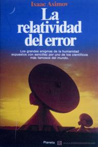 Libro: La relatividad del error - Asimov, Isaac